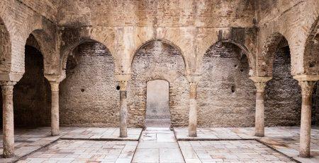 El Bañuelo baños árabes de Granada