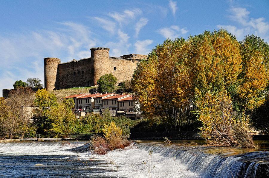 El Barco de Ávila en la provincia de Ávila río Tormes castillo