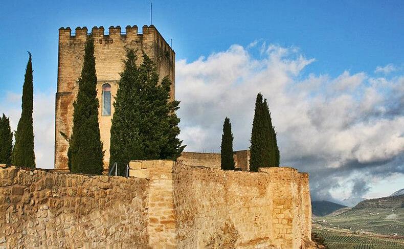 Fortaleza de la Mota en Alcalá la Real Jaén