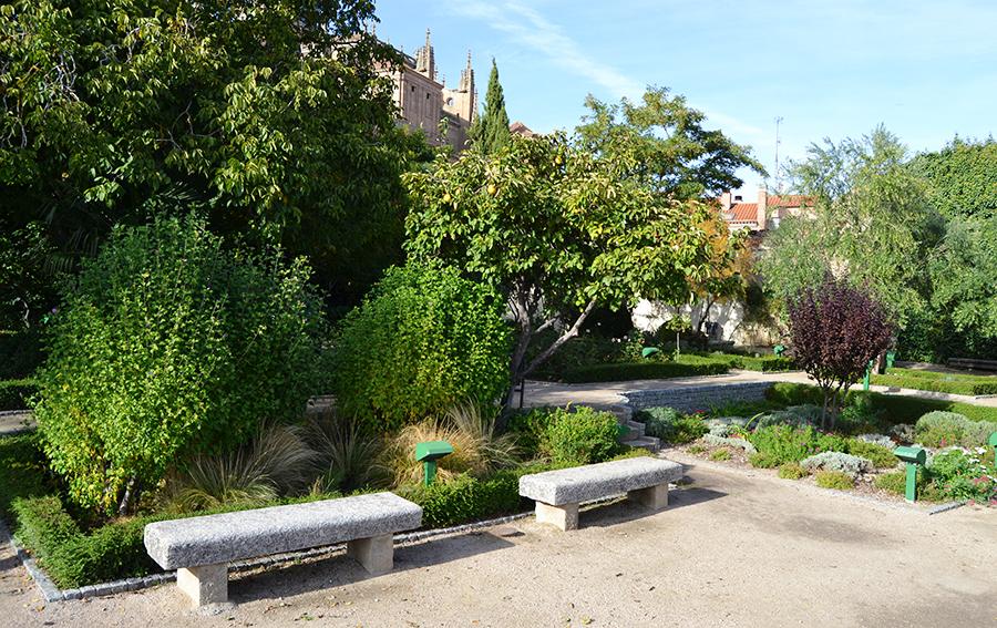 Jardines Huerto de Calixto y Melibea en Salamanca