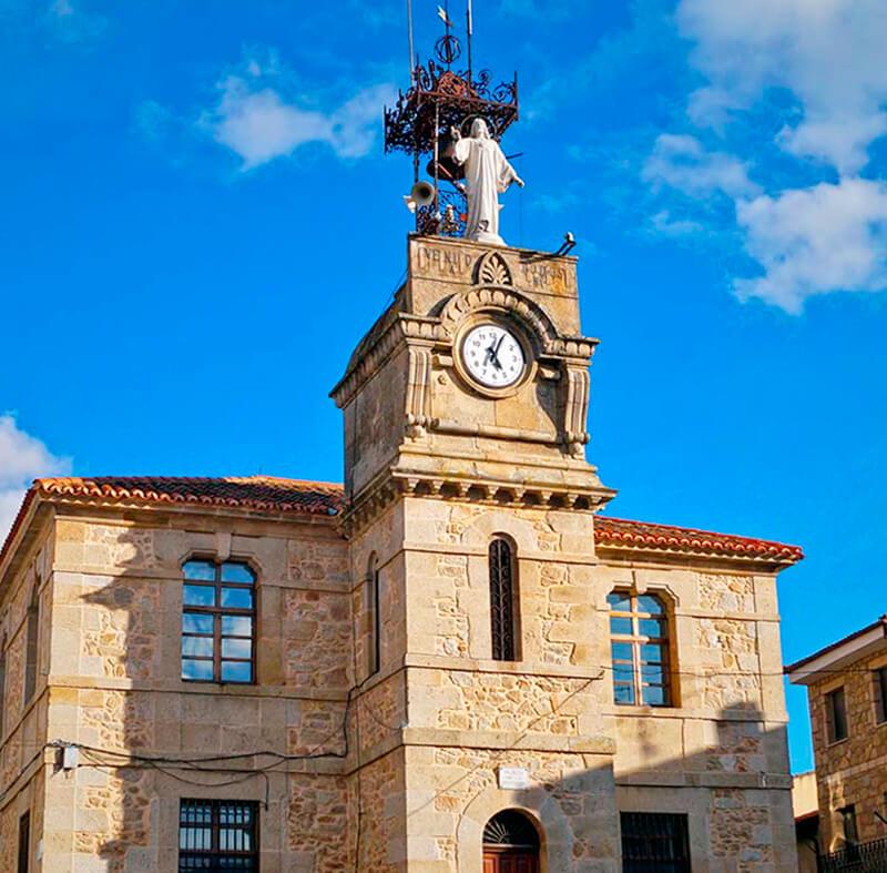 Fermoselle iglesia de Santa Colomba