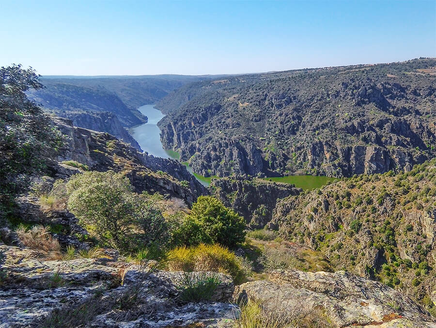 Los Arribes del Duero Mirador de las Barrancas (Zamora)