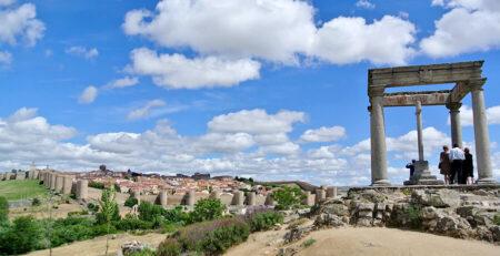 Los Cuatro Postes en Ávila mirador