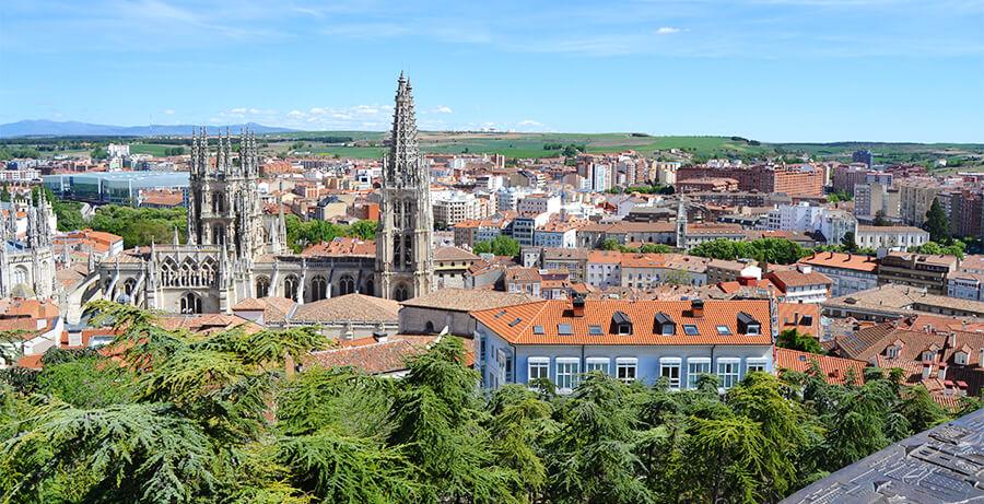 mirador del Castillo de Burgos que ver