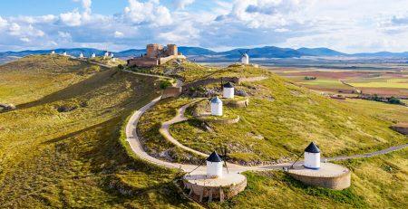 molinos de Consuegra en Toledo (Castilla-La Mancha)