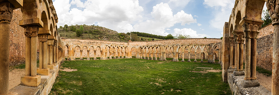 monasterio de San Juan de Duero que ver Soria