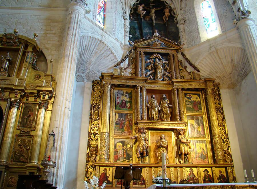 retablo mayor Berruguete iglesia Santa Eulalia Paredes de Nava
