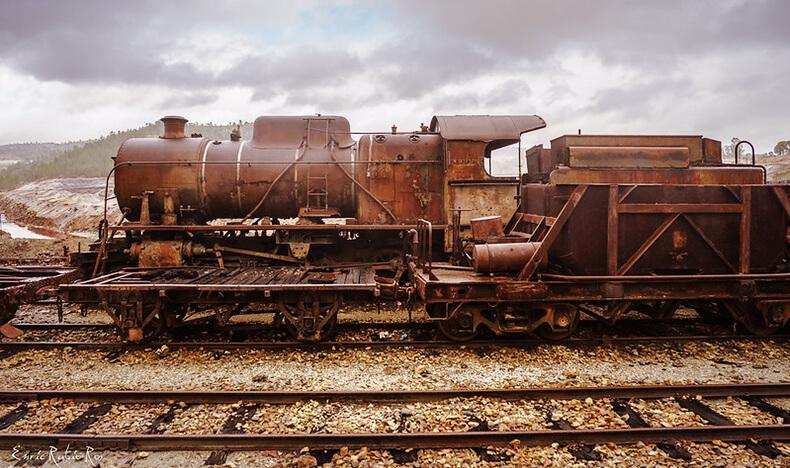 parque minero de Riotinto ferrocarril
