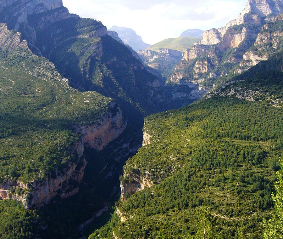parque nacional de Ordesa y Monte Perdido Añisclo