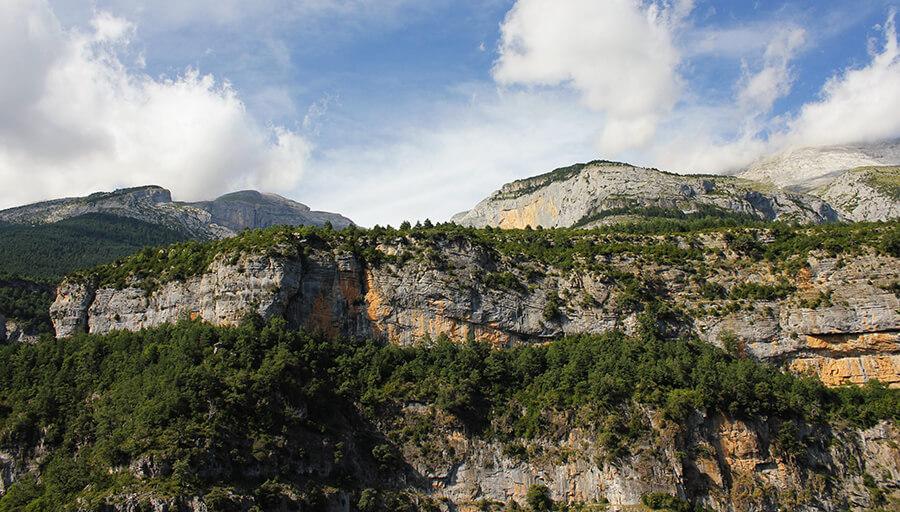 Parque Nacional de Ordesa y Monte Perdido Escuaín miradores de Revilla
