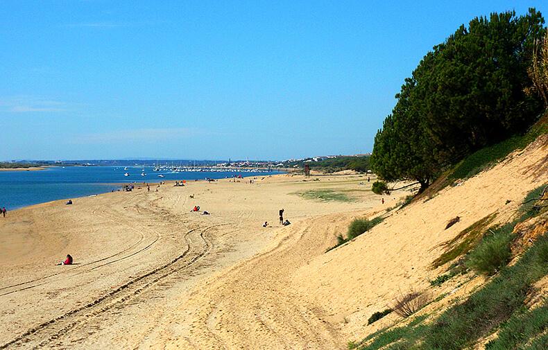 playa de El Portil Huelva