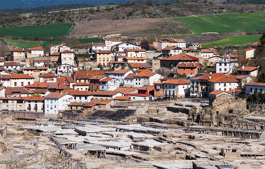Salinas de Añana valle Álava