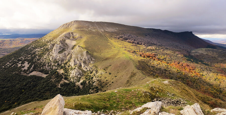 sierra de Aralar que ver