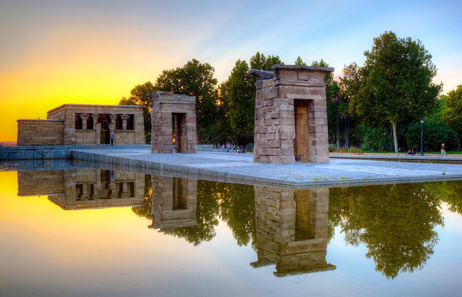 Templo de Debod Madrid que ver