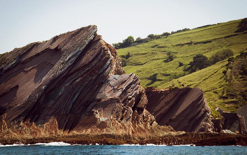 zumaia geoparque de la costa vasca