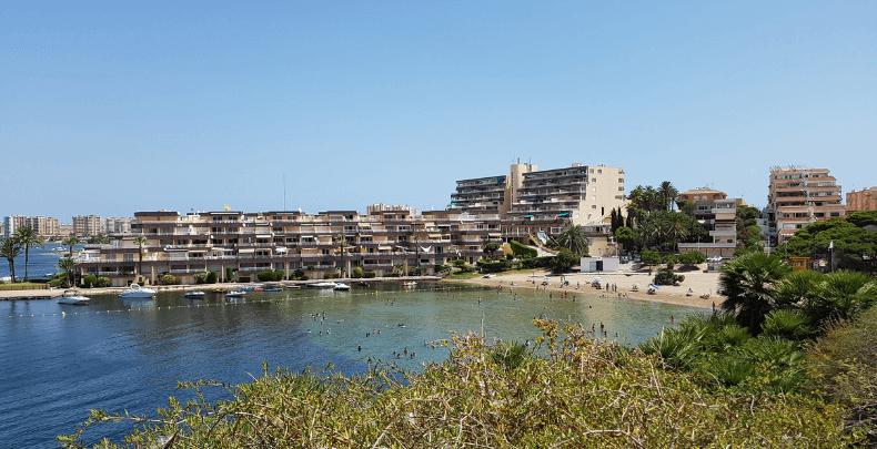 Cala del Pino La Manga del Mar Menor