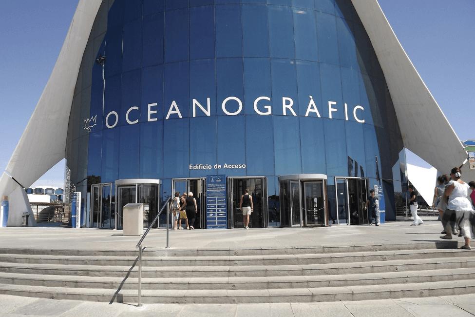 Oceanografic Entradas