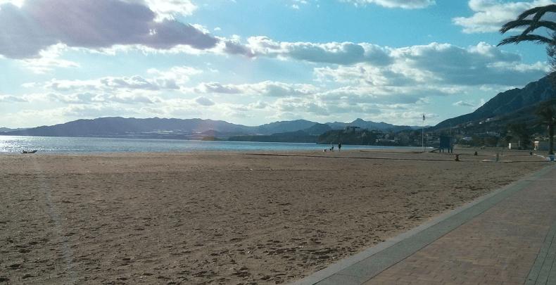 Playa de Bolnuevo Mazarron