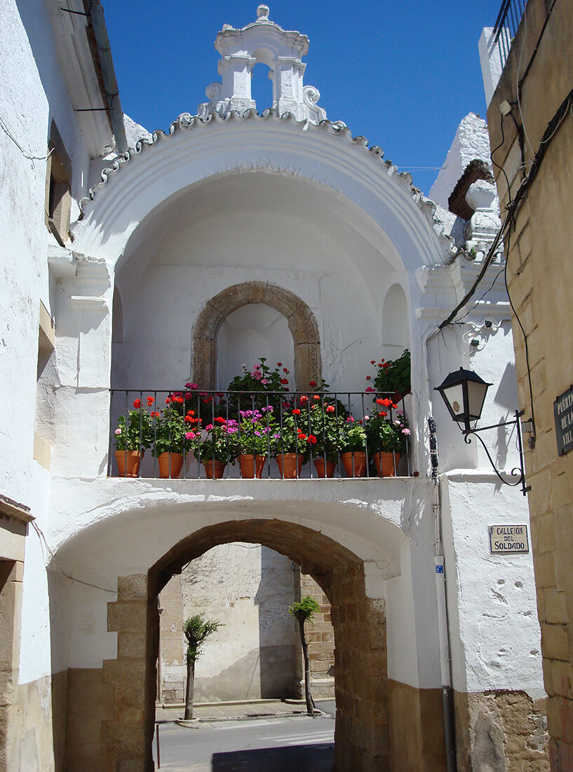 puerta de la villa que ver en Alburquerque