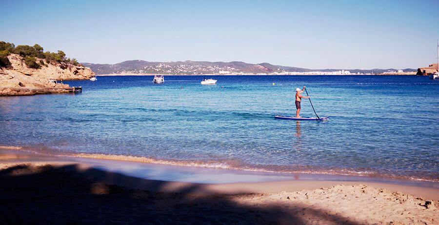 Cala Bassa en Ibiza