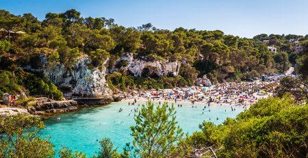 Cala Llombards Santanyi Mallorca