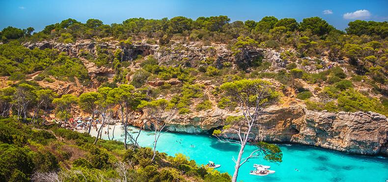 Caló des Moro isla Mallorca