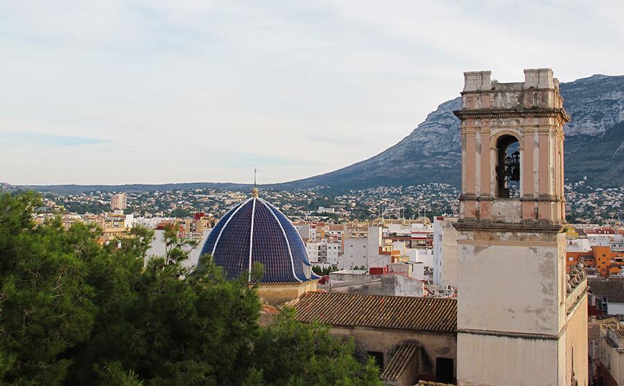 castillo de Denia Alicante
