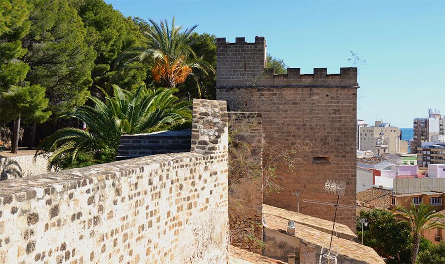 castillo de Denia Torre del Consell