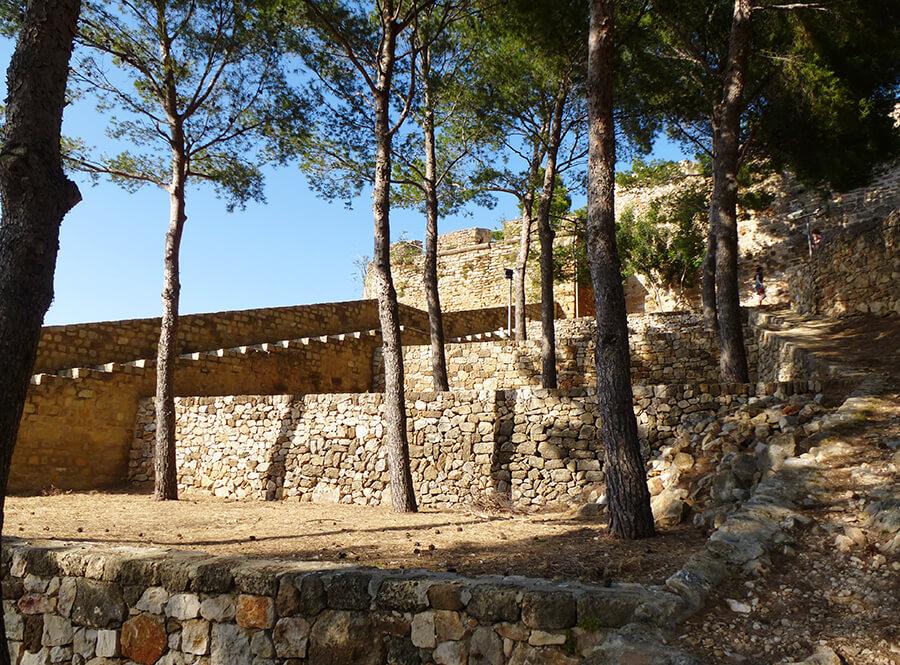 castillo de Denia en Alicante