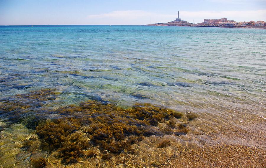 faro de Cabo de Palos costa de Cartagena naufragios
