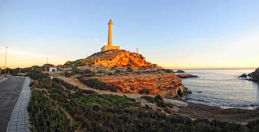 faro de Cabo de Palos que ver Murcia