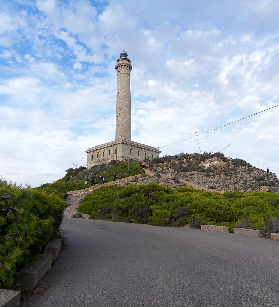 faro de Cabo de Palos Murcia
