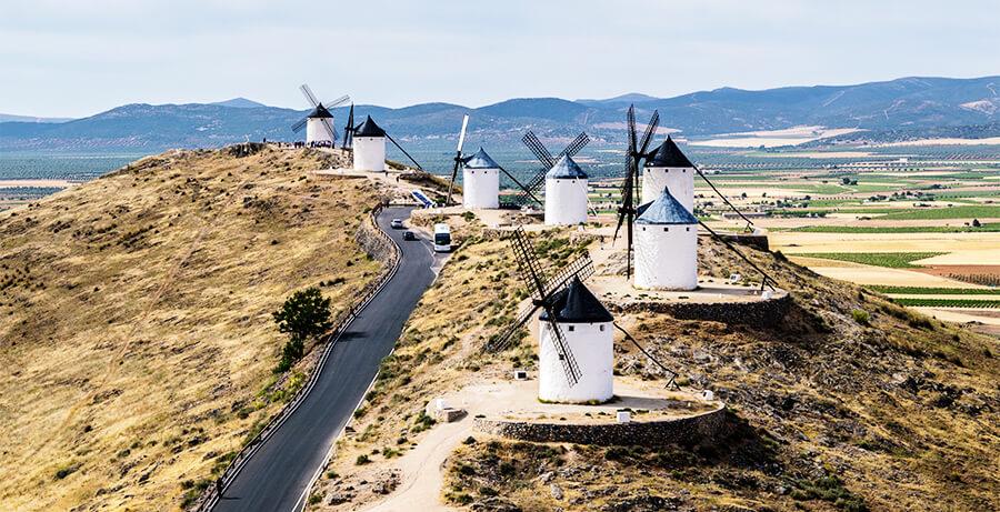 molinos de Consuegra que ver Toledo