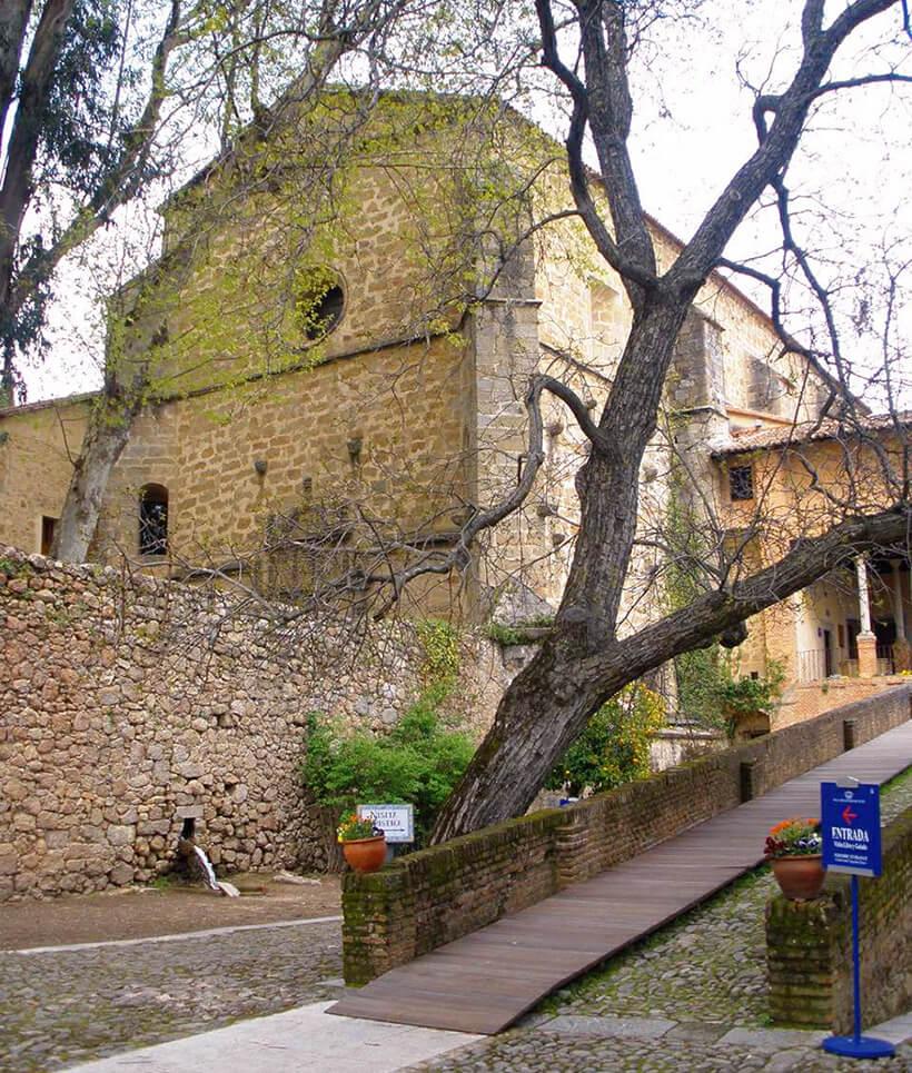 iglesia del Monasterio de Yuste Cáceres