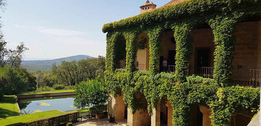 monasterio de yuste jardines