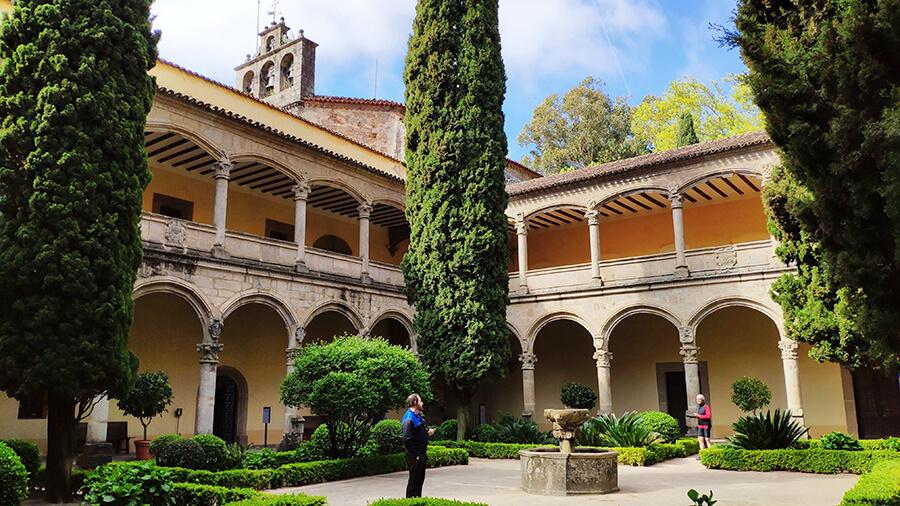 Monasterio de Yuste Claustro renacentista nuevo