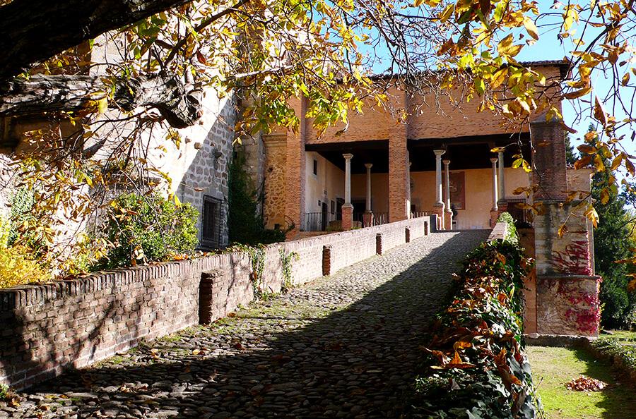 casa palacio de Carlos V monasterio de Yuste