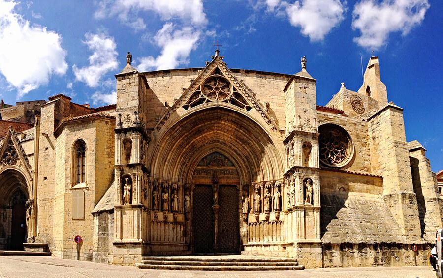fachada basílica de Santa María la Mayor de Morella