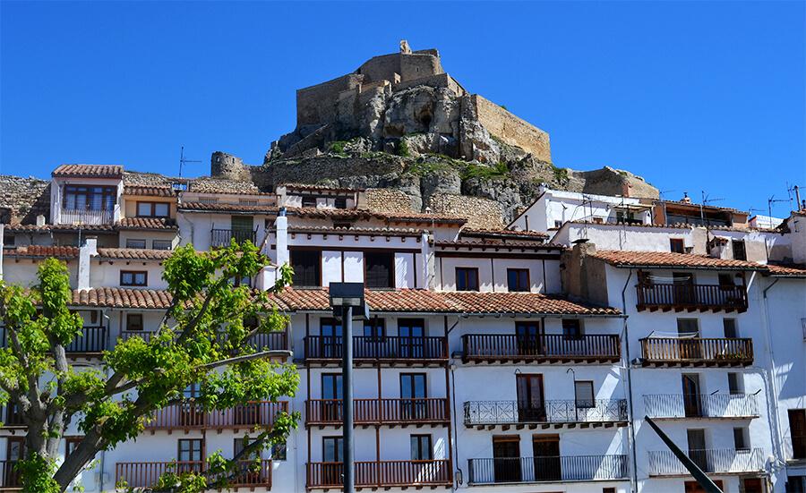 castillo de Morella Castellón