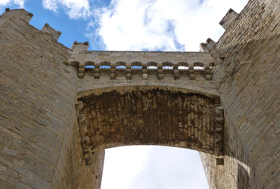 Morella Puerta de Sant Miquel murallas