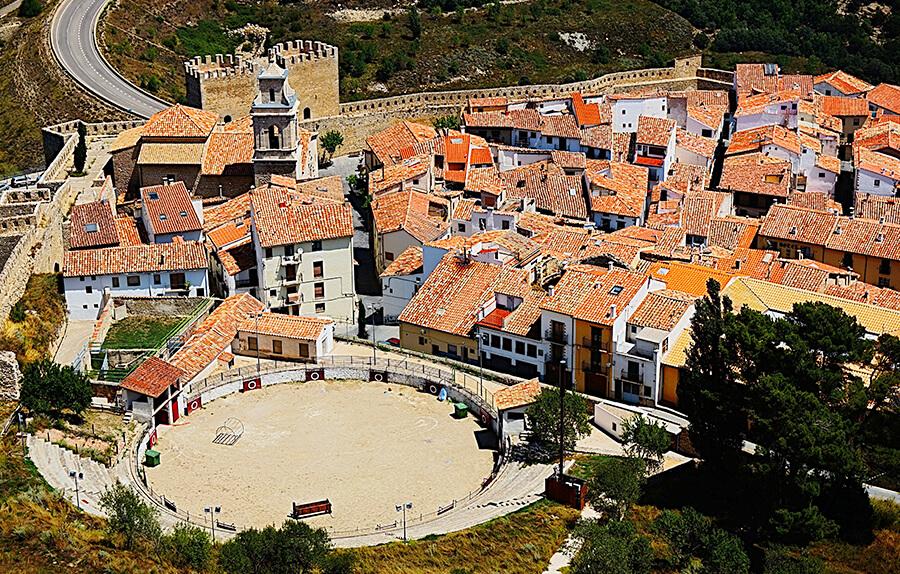 vistas de Morella desde el Castillo