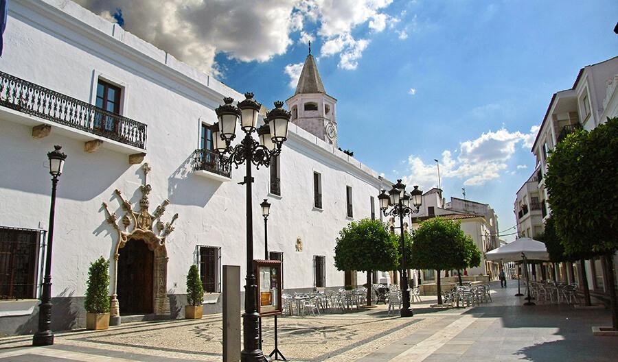 ayuntamiento de Olivenza en Badajoz
