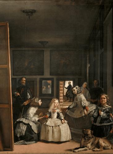 Las Meninas, de Velázquez - Museo del Prado