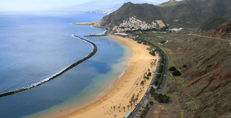 Playa de Las Teresitas San Andrés