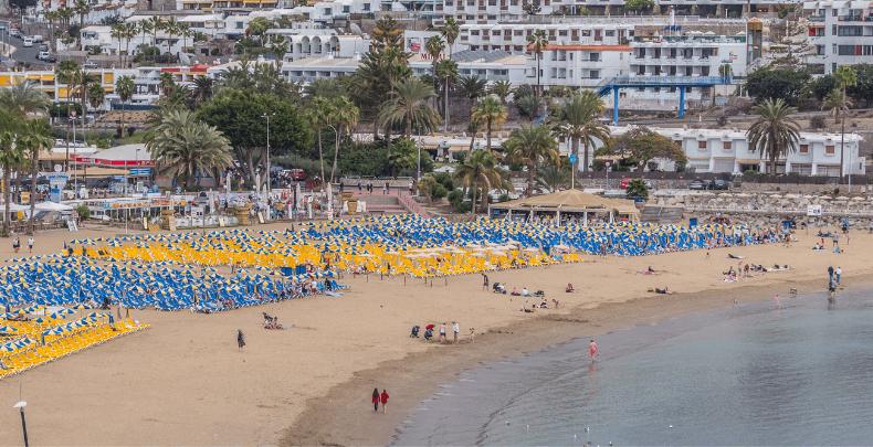 Playa de Puerto Rico Gran Canaria