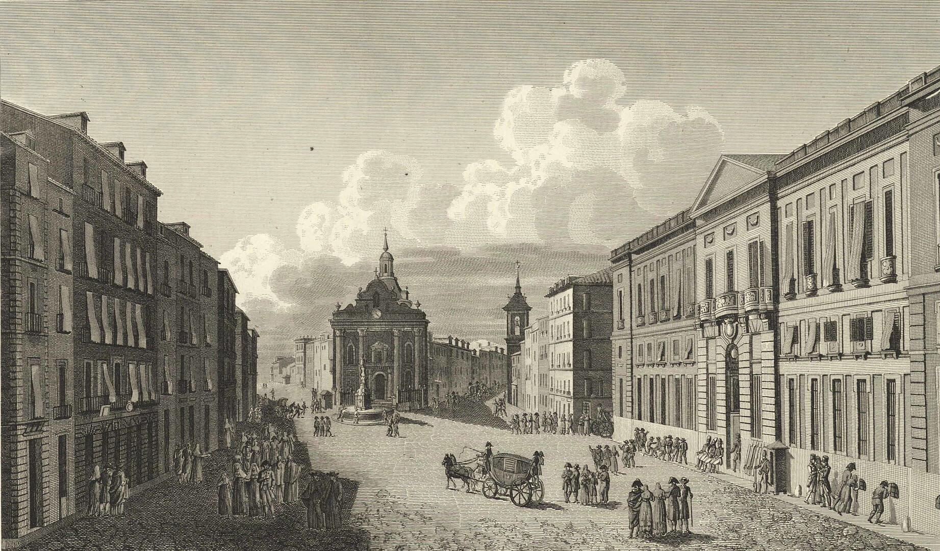 Puerta del Sol comienzos del siglo XIX