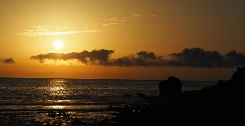 Valle Gran Rey Puesta de sol