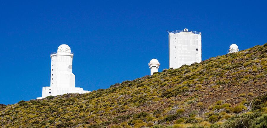 observatorio del Teide en Tenerfie