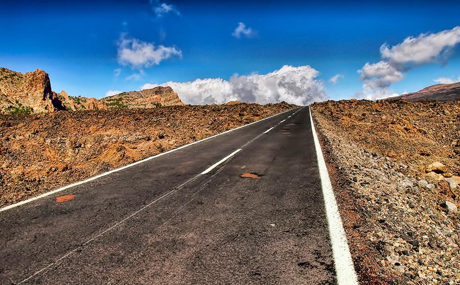 Teide rutas carreteras y miradores