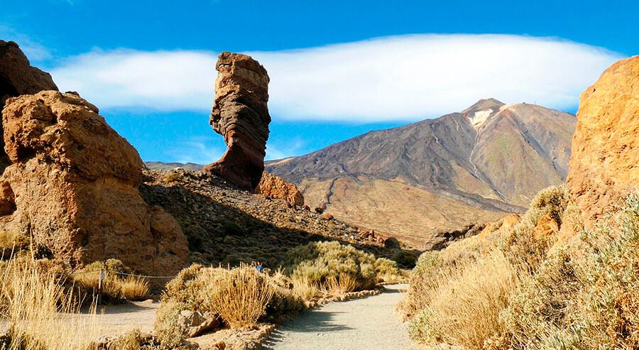 Teide Parque Nacional Roque Cinchado